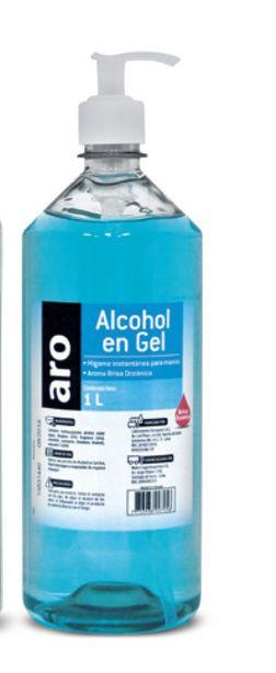 Oferta de Alcohol gel Aro por S/ 9,9
