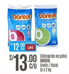Oferta de Detergente en polvo Boreal por S/ 13