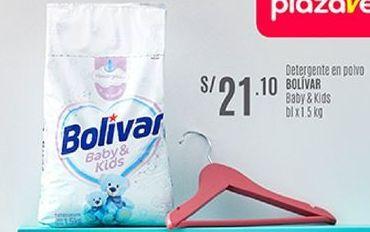 Oferta de Detergente Bolívar por S/ 21,1