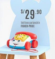 Oferta de Teléfono de juguete Fisher Price por S/ 29,9