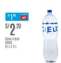 Oferta de Agua Cielo por S/ 2,2