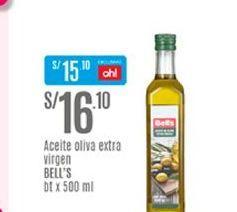 Oferta de Aceite de oliva Bell's por S/ 16,1
