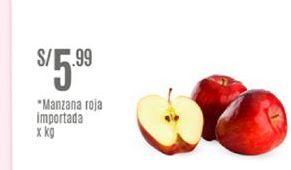 Oferta de Manzanas roja importada por S/ 5,99