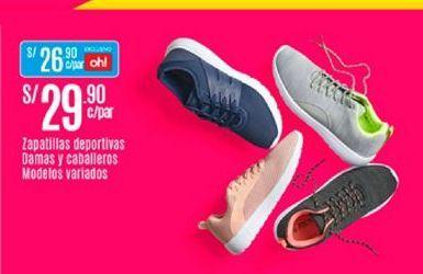 Oferta de Zapatillas deportivas damas y caballeros modelos varoados por S/ 29,9