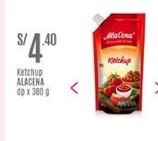 Oferta de Ketchup Ala Cena por S/ 4,4