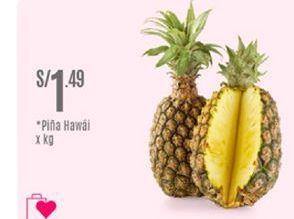 Oferta de Piña Hawai por S/ 1,49