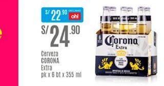 Oferta de Cerveza Corona por S/ 24,9