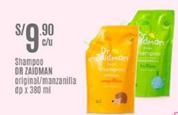 Oferta de Shampoo Dr. Zaidman por S/ 9,9