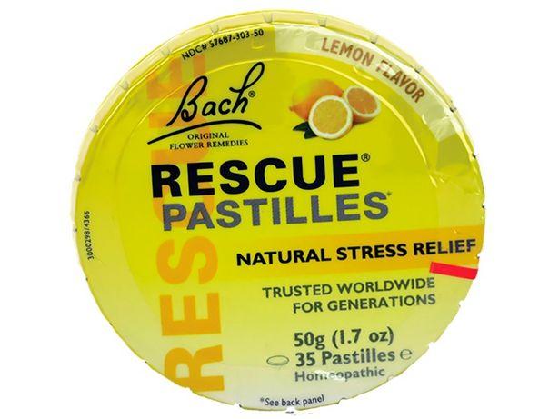 Oferta de Rescue Pastillas Sabor Limón Flores de Bach - Caja 50 G por S/ 59