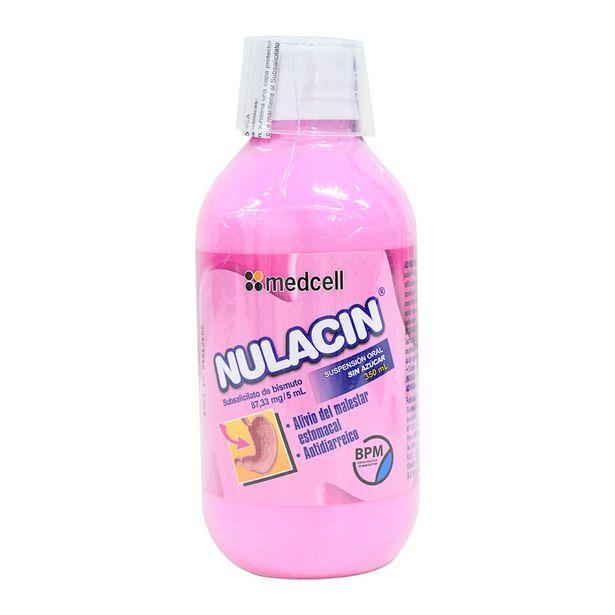 Oferta de Nulacin 87.33/5ml Jarabe Sin azucar por S/ 23,5