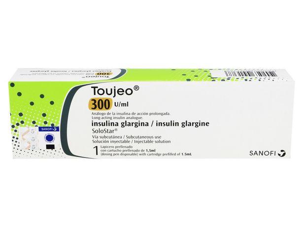 Oferta de Insulina Glargina 300 U/ml Tipo Lapicero Toujeo por S/ 120,3