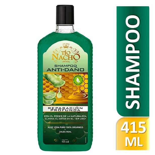 Oferta de Shampoo Tío Nacho Aloe Vera - Frasco 415 ML por S/ 19,9