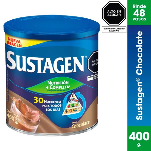 Oferta de Sustagen Polvo Sabor Chocolate - Lata 400 G por S/ 31,5
