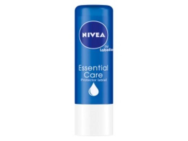 Oferta de Protector Labial Nivea Lip Essential Care - Blister 1 UN por S/ 9,9