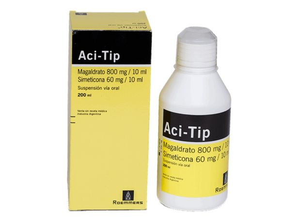 Oferta de Aci-Tip 800mg-60mg/10ml Suspensión - Frasco 200 ML por S/ 25,4