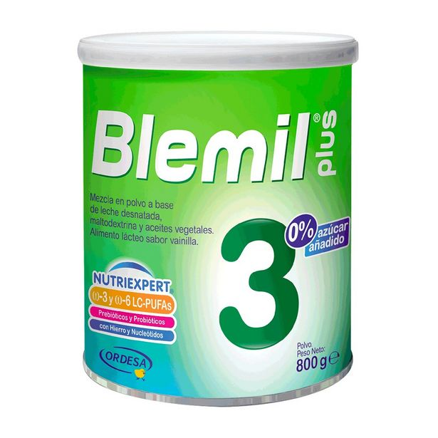 Oferta de Blemil Plus 3  0% Azúcar Añadido - Lata 800 G por S/ 85,9