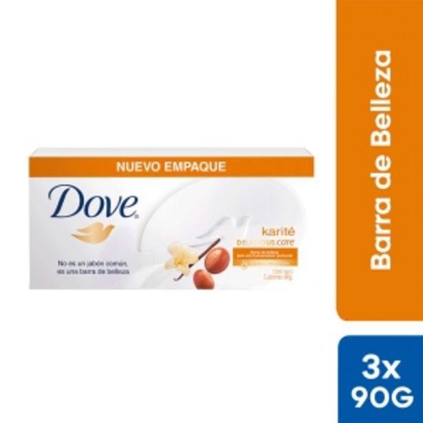 Oferta de Jabón Dove Karité Delicious Care - Pack 3 UN por S/ 7,2