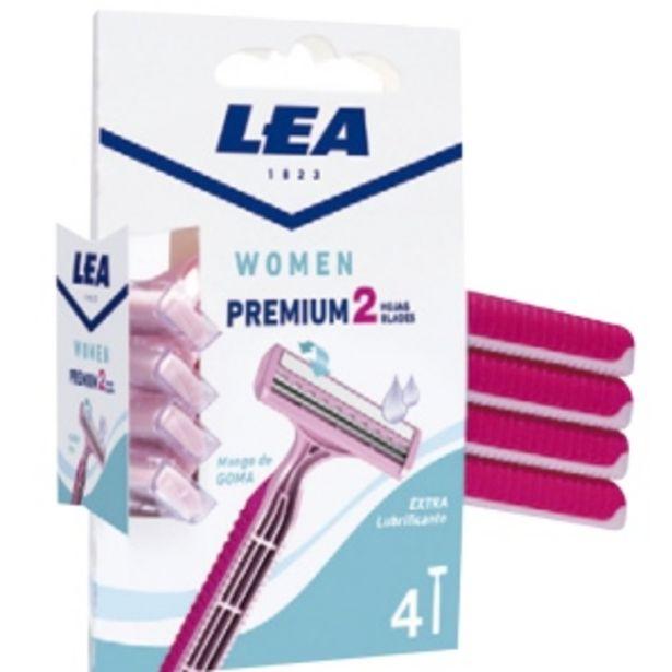 Oferta de Máquina De Afeitar 2 Hojas Women Premium Lea 1823 - Blister 4 UN por S/ 12,9