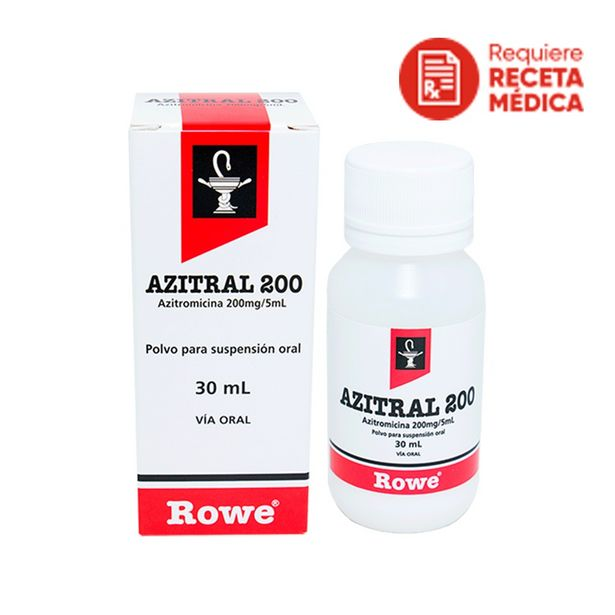 Oferta de Azitral 200 Mg/5Ml Polvo Para Suspensión Oral por S/ 70,9