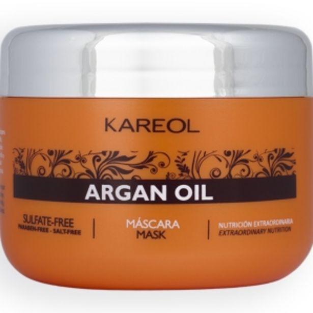 Oferta de Mascarilla para el Cabello Kareol Argan Oil - Pote 300 G por S/ 29