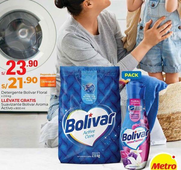 Oferta de Detergente Bolívar por S/ 23,9
