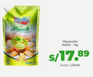 Oferta de Mayopaalta Walibi por S/ 17,89