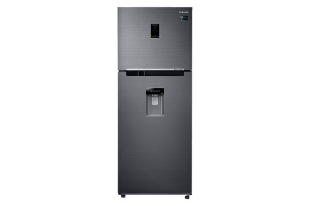 Oferta de Refrigeradora Samsung Top Freezer Black Edition con Twin Cooling Plus 382 L por S/ 2399