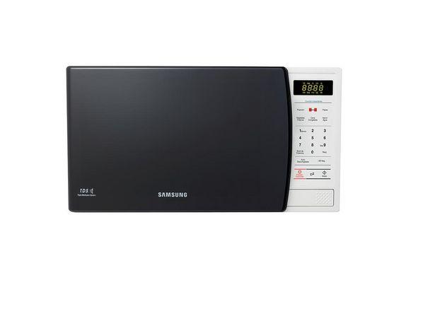 Oferta de Microondas Samsung Soft con Botón Aderezo 23L por S/ 309