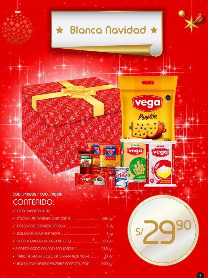 Oferta de Canastas navideñas por S/ 29,9