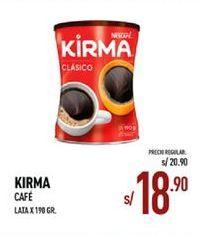 Oferta de Café Kirma por S/ 18,9