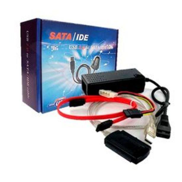 Oferta de Convertidor Megim Perú IDE-SATA a USB 2.0 por S/ 48,9