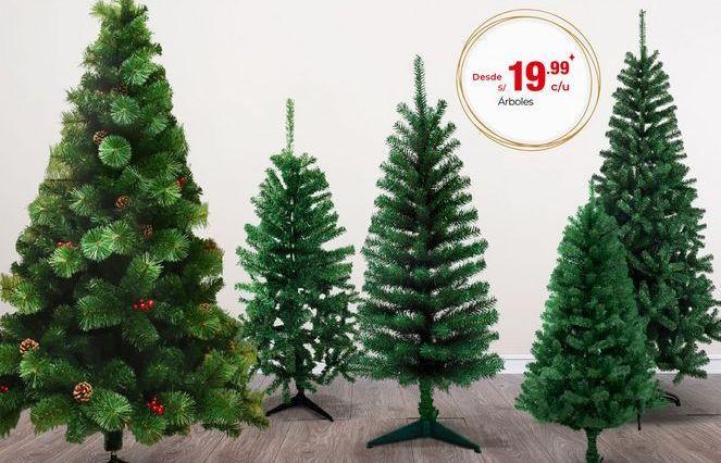 Oferta de Adornos de Navidad por S/ 19,99