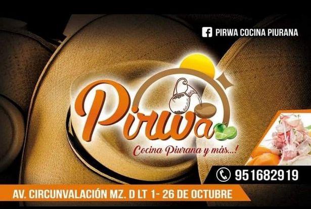 Oferta de PIRWA COCINA PIURANA Y MAS...! por S/ 0,01