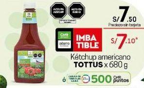 Oferta de Ketchup Tottus por S/ 7,1