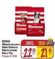Oferta de Comida para perros Ricocan por S/ 22,5
