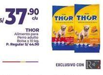 Oferta de Comida para perros Thor por S/ 37,9