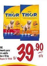 Oferta de Comida para perros Thor por S/ 39,9