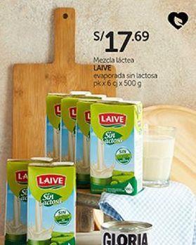 Oferta de Mezcla láctea sin lactosa Laive por S/ 17,69