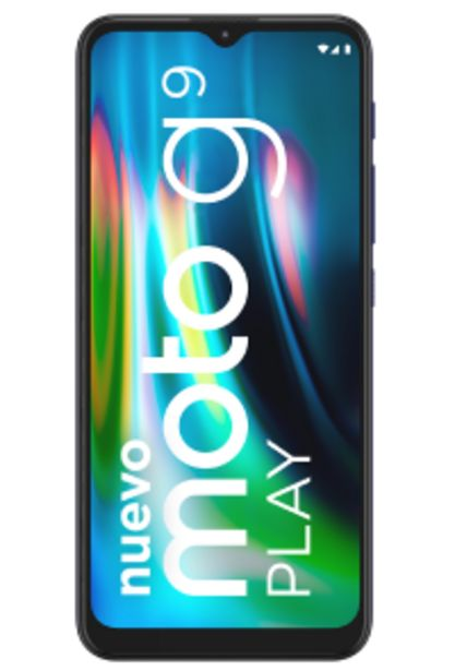 Oferta de Motorola Moto G9 Play por S/ 82