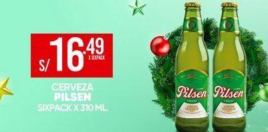 Oferta de Cerveza Pilsen por S/ 16,49