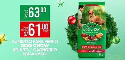 Oferta de Comida para perros Dog Chow por S/ 63