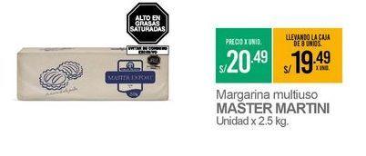 Oferta de Margarina Master Martini por S/ 20,49