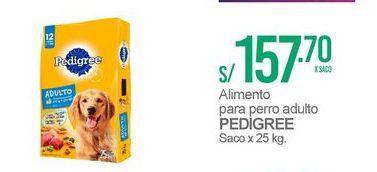 Oferta de Comida para perros Pedigree por S/ 157,7