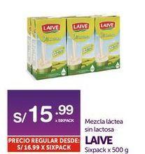 Oferta de Mezcla láctea sin lactosa Laive por S/ 15,99