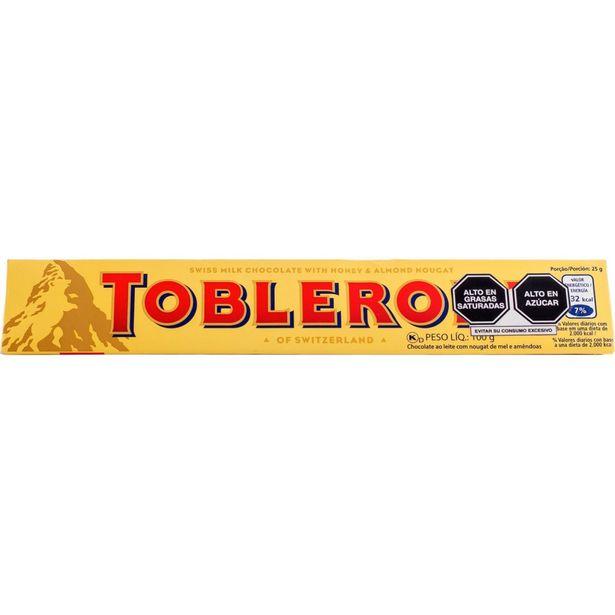 Oferta de TOBLERONE DE LECHE  100GR por S/ 10,1