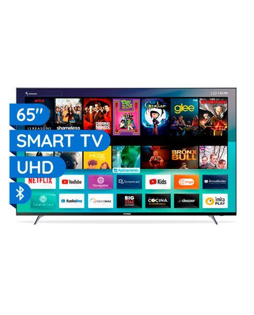 Oferta de TV HYUNDAI LED 65' UHD 4K SMART NETFLIX MULTISTREAM BLUETOOTH por S/ 2099