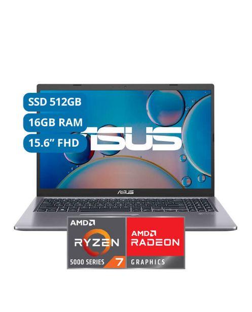 Oferta de LAPTOP ASUS 15' FHD AMD RYZEN 7 16GB 512SSD M515UA-BQ398T por S/ 3799