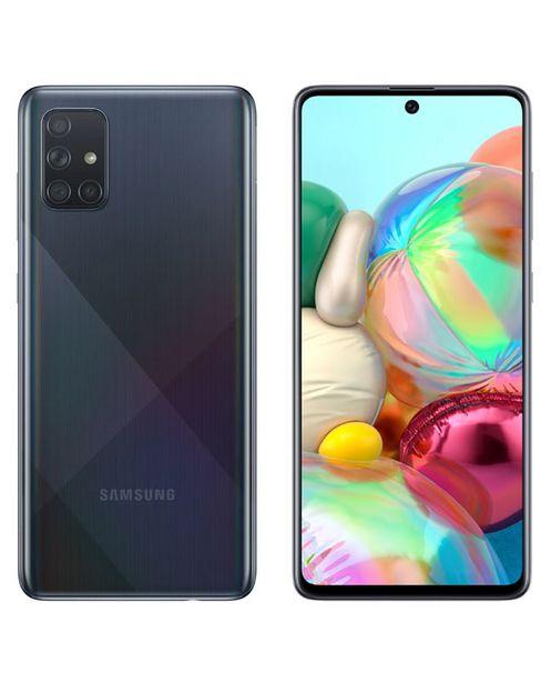 Oferta de SMARTPHONE SAMSUNG GALAXY A71 128 GB 6GB - NEGRO por S/ 1799