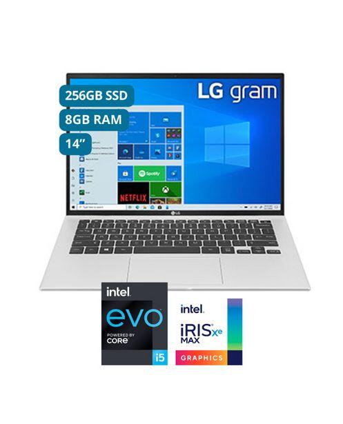 Oferta de ULTRABOOK GRAM LG 14' INTEL EVO CORE I5 11°GEN 256GB SSD 8GB SILVER por S/ 3999