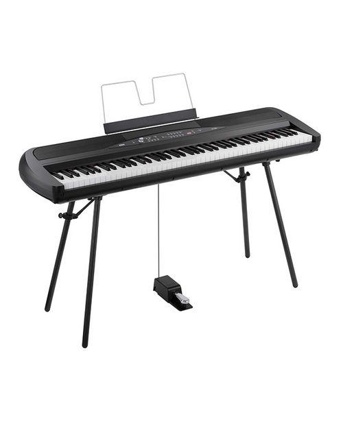 Oferta de PIANO DIGITAL KORG SP-280 88 TECLAS - NEGRO por S/ 2999